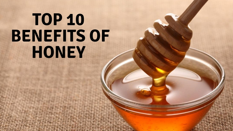Top 10 Benefits of Honey
