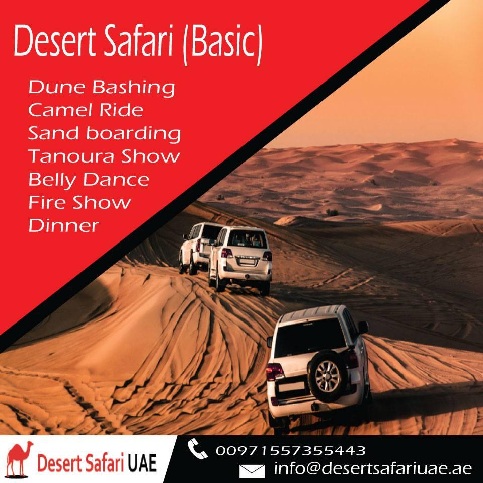 Dubai Best Desert Safari with very comfortable Rate - Desert Safari Basics