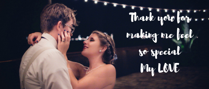 How to make a relationship romantic and long-lasting - appreciate and thank you