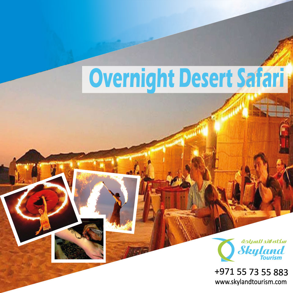 How to make your trip adventurous at Dubai desert safari - Night in the Desert