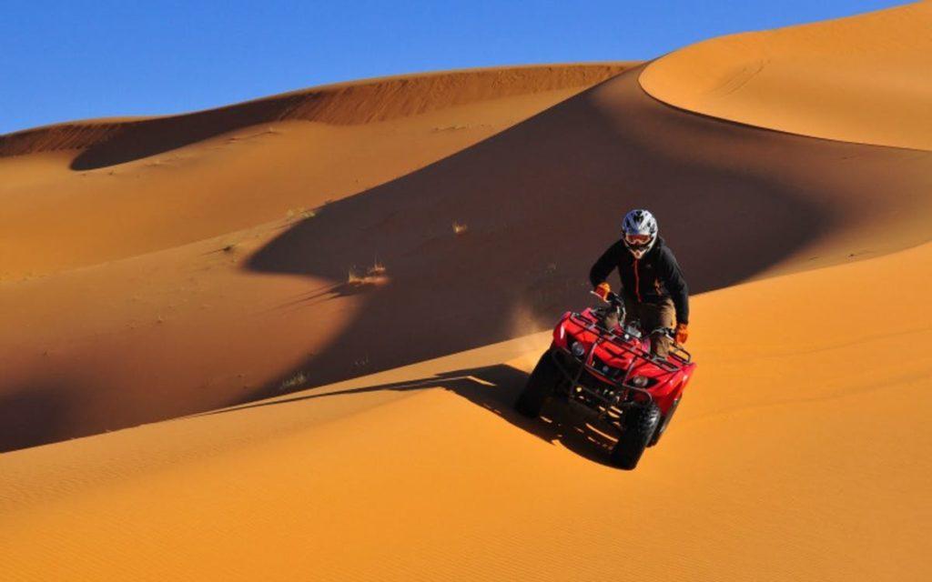Is it safe to travel Dubai - Desert Safari Quad Bike