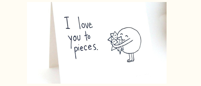 Romantic ways to say I love you - love you cards