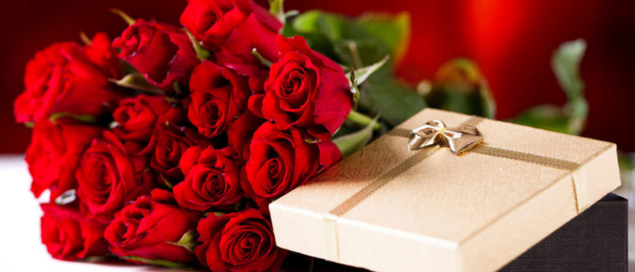 Romantic ways to say I love you - suprise proposal