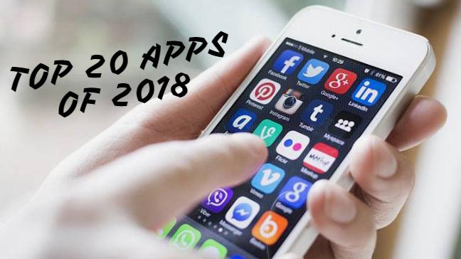 Top 20 Apps of 2018