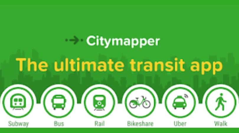 Top 20 Apps of 2018 citymapper