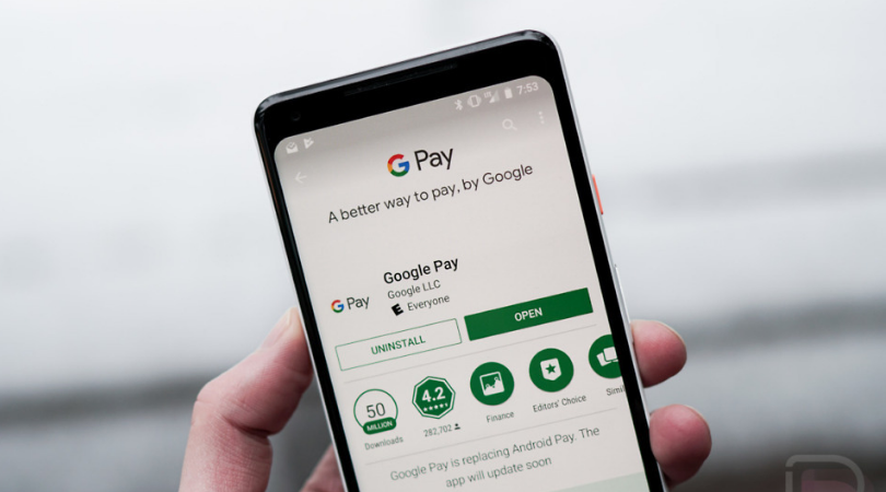 Top 20 Apps of 2018 google pay