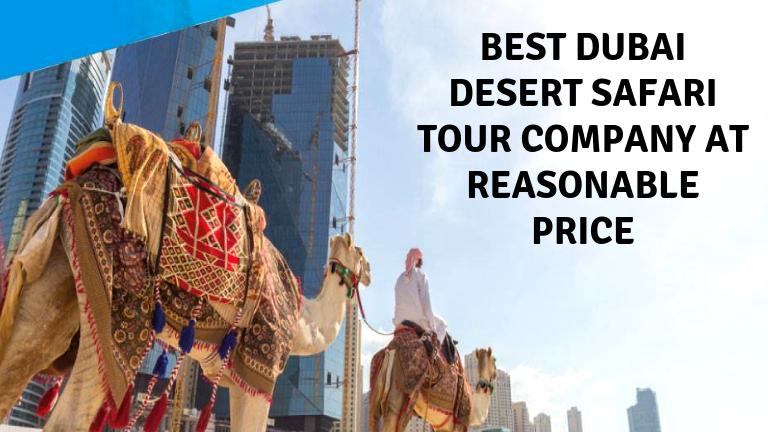 Best Dubai desert safari Tour Company at Reasonable Price