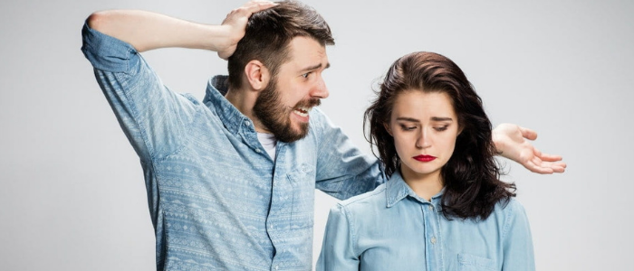 Top 10 tips to stay madly in love with your partner - couple fight