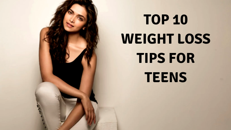 Top 10 weight loss tips for teens