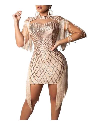 tassels maxi dress 1
