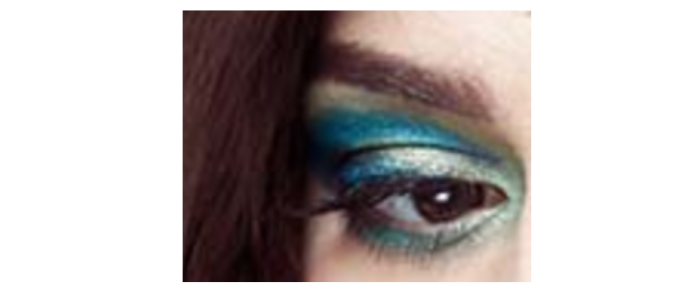 Eye Make Up - Peacock style