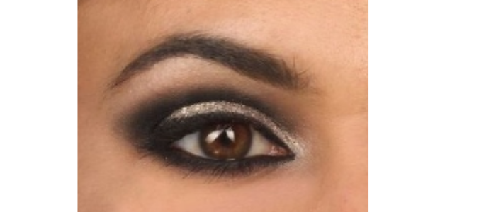 Eye Make Up - reddish brown