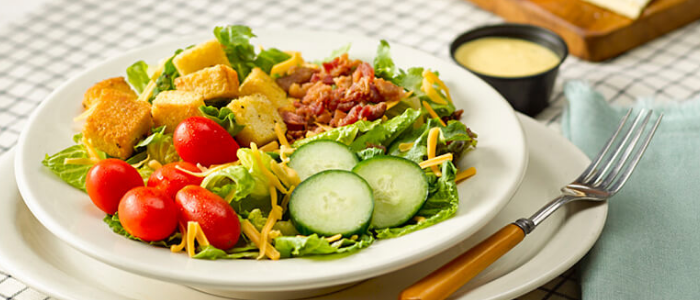 Include some salads in diet