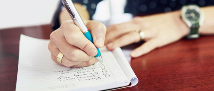 21 habits of wealthy people - Make a to-do list