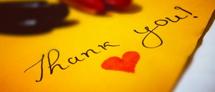 21 habits of wealthy people - Show gratitude