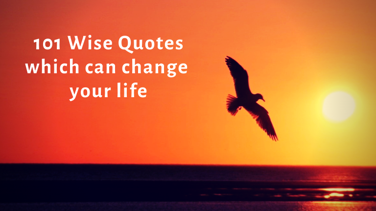 101 Wise Quotes which can change your life