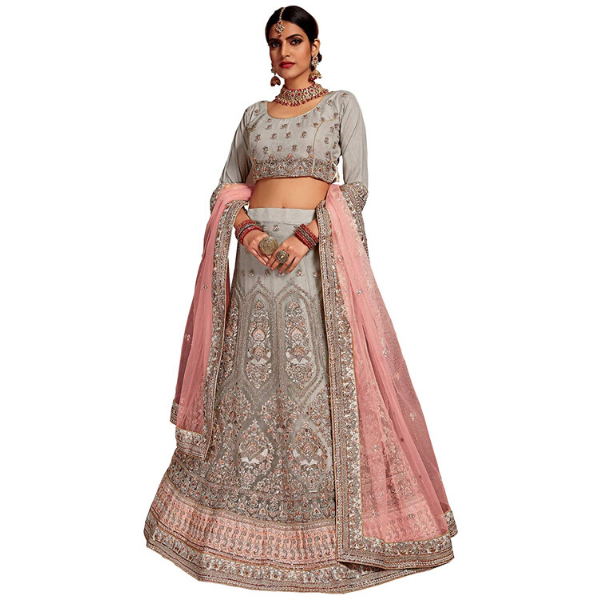 Bridal Reception Wear Lehenga Choli Outfit