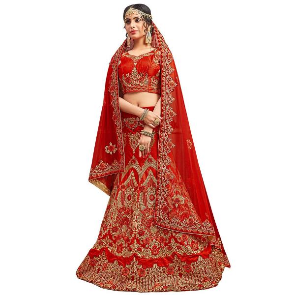 Velvet Lehenga Choli for ladies