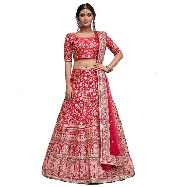 silk Lehenga set for women