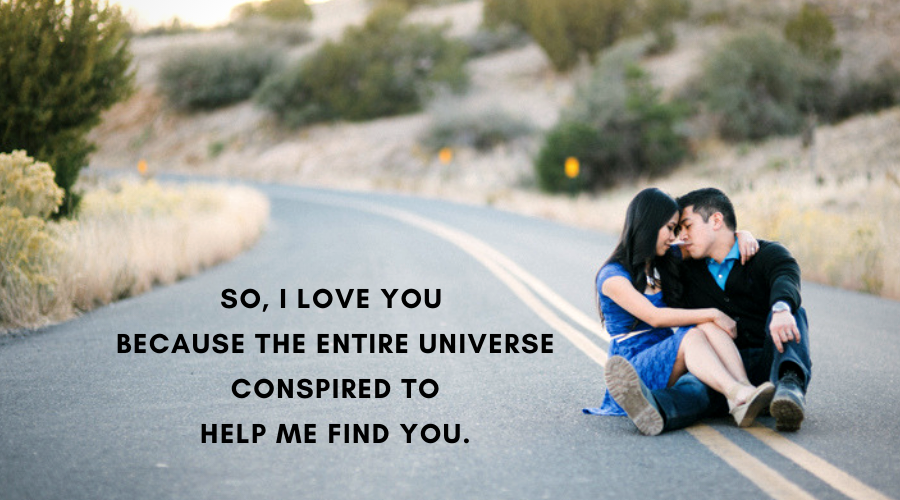 Cute Love Quotes For Her-So, I love you because the entire
