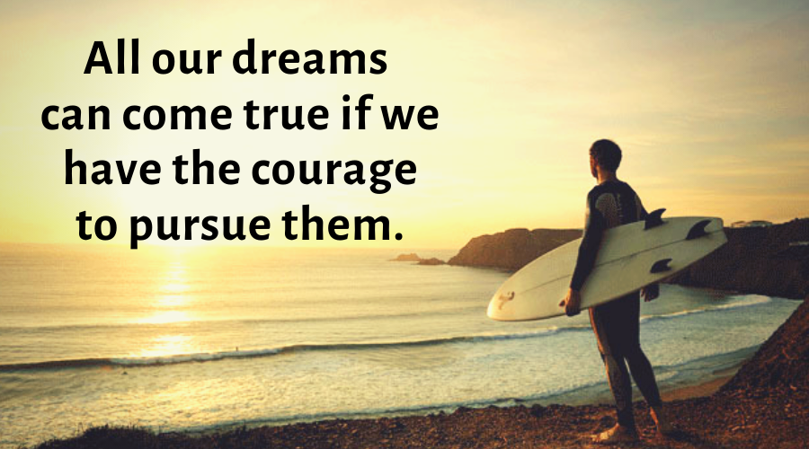 Motivational Quotes-All our dreams can come true