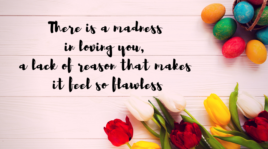 Love Quotes for Him and Her-There is a madness in loving you, a lack of reason that makes it feel so flawless